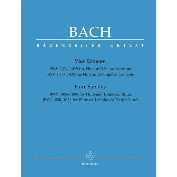 Bach - Four Flute Sonatas