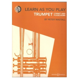 Learn as you Play Trumpet Book & CD