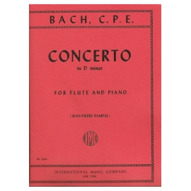 C.P.E. Bach - Concerto in D Minor for Flute and Piano