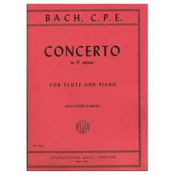 C.P.E. Bach - Concerto in D Minor for Flute and Piano