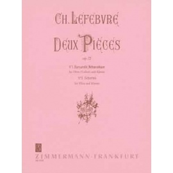Lefebvre - Deux Pieces Op.72 Flute and Piano