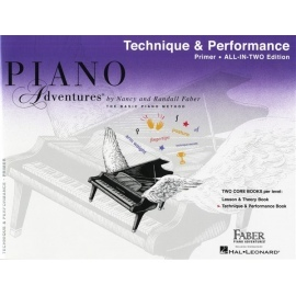 Piano Adventures Technique and Artistry Book Primer Level