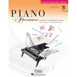 Piano Adventures Sightreading Book Level 2B