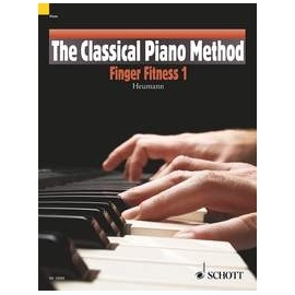 The Classical Piano Method Finger Fitness 2 by Heumann