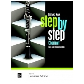 Step by Step Clarinet by James Rae