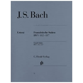Bach - French Suites BWV812-817