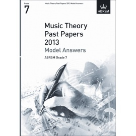 ABRSM Theory Of Music Exam 2013 Past Paper Model Answers Grade 7