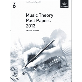 ABRSM Theory Of Music Exam 2013 Past Paper Grade 6
