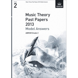 ABRSM Theory Of Music Exam 2013 Past Paper Model Answers Grade 2