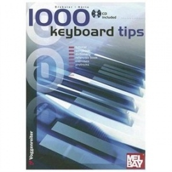 1000 Keyboard tips (bk&cd)