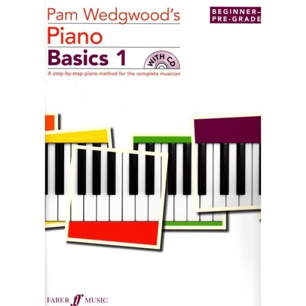 Pam Wedgwoods Piano Basics 1 Beginner-Pre Grade 1