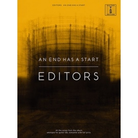 Editors - An End Has A Start (TAB)