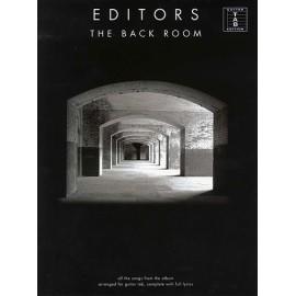 Editors - The Back Room (TAB)