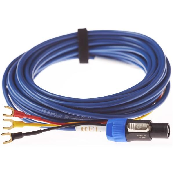 10m Bass Line Blue Cable