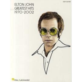 Elton John - Greatest Hits 1970-2002 (Easy Guitar)