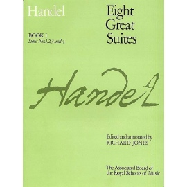 Handel Eight Great Suites Book 1