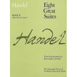 Handel Eight Great Suites Book 2