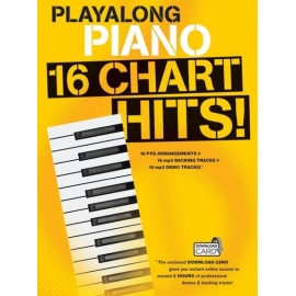 Playalong Piano: 16 Chart Hits