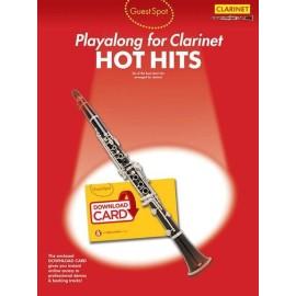 Playalong for Clarinet: Hot Hits