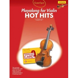 Playalong for Violin: Hot Hits