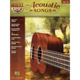Ukulele Play-Along Volume 30: Acoustic Songs