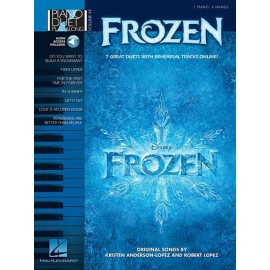 Piano Duet Play-Along Volume 44: Frozen