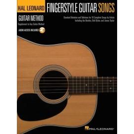 Hal Leonard Guitar Method: Fingerstyle Guitar Songs