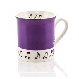 Colour Block Mug - Purple