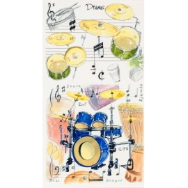 Pocket Notepad: Drums