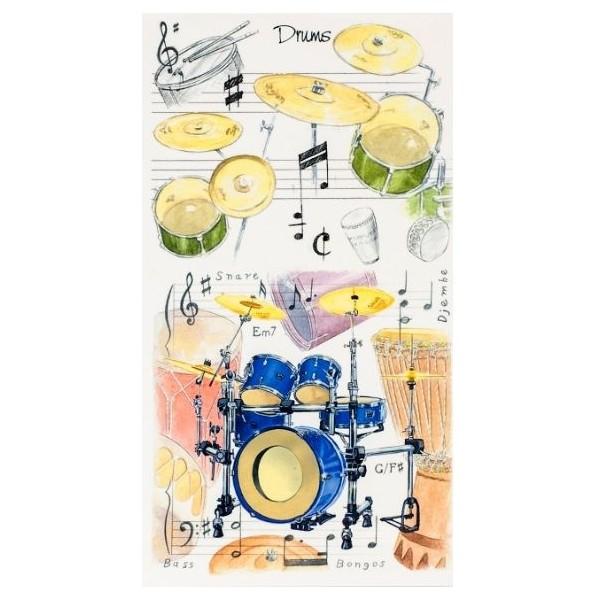 Pocket Notepad: Drums