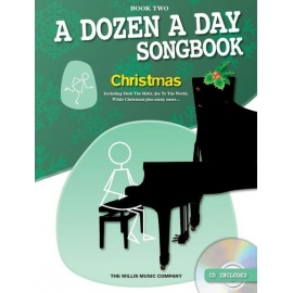 A Dozen A Day Songbook: Christmas - Book Two