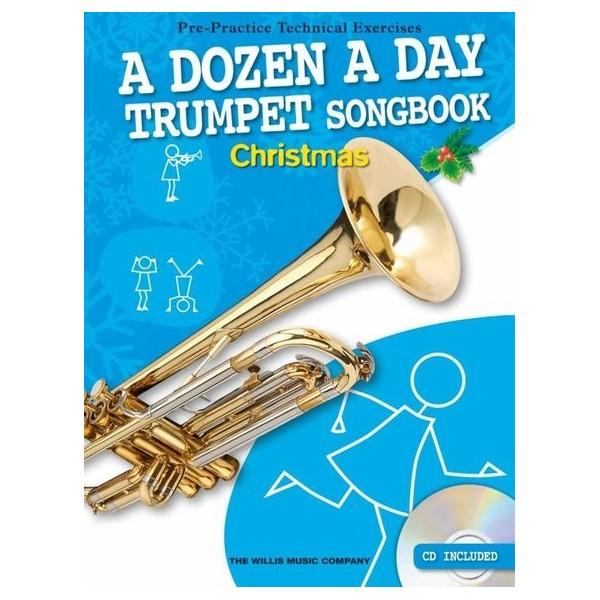 A Dozen A Day Trumpet Songbook: Christmas
