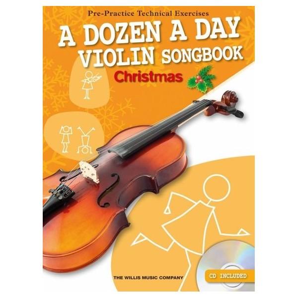 A Dozen A Day Violin Songbook: Christmas