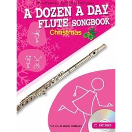 A Dozen A Day Flute Songbook: Christmas
