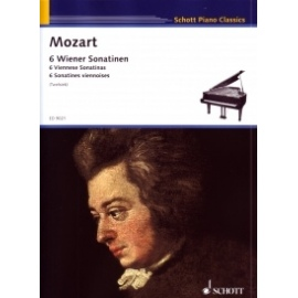Amadeus Mozart - Mozart Six Viennese Sonatinas (Schott ED9021)