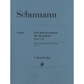 Robert Schumann: Three Piano Sonatas For The Young Op.118 - Urtext