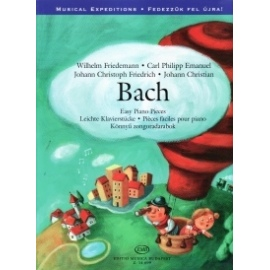 Bach: Easy Piano Pieces