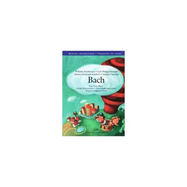 Bach - Easy Piano Pieces