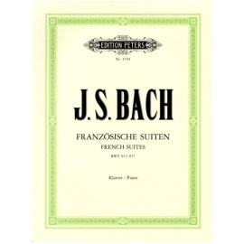 Bach French Suites Complete Piano