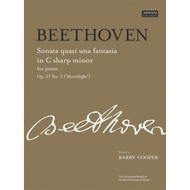 Beethoven - Sonata No.14 In C Sharp Minor Op. 27 No. 2 (Moonlight)