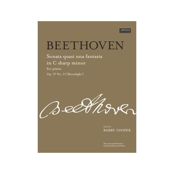 Beethoven - Sonata No.14 In C Sharp Minor Op. 27 No. 2 (Moonlight)