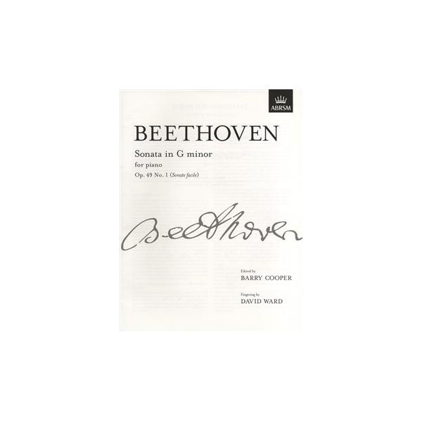 Beethoven - Sonata In G Minor Op. 49 No. 1