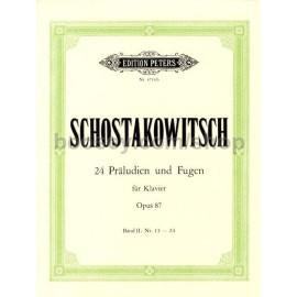 Shostakovich - 24 Preludes and Fugues Op. 87 Volume II 13 - 24