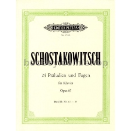 Shostakovich 24 Preludes and Fugues opus 87