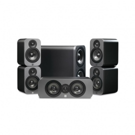 Q3000 Series Cinema Pack Graphite Black / Walnut