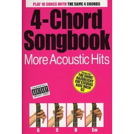 4-Chord Songbook - More Acoustic Hits