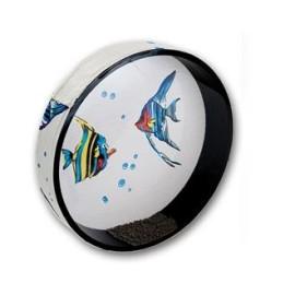 Dream Wave Drum Fish Design