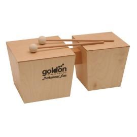 Goldon Wooden Bongos