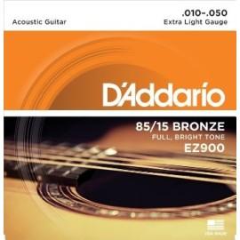 85/15 Bronze EZ900 .010-.050 Extra Light Gauge