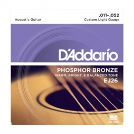 Phosphor Bronze EJ26 .011-.052 Custom Light Gauge